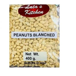 LATAS KITCHEN BLANCHED PEANUTS 400 gm