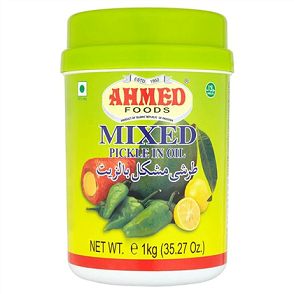 AHMED MIXED PICKLE IN OIL HYDERABADI