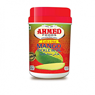 AHMED EXTRA HOT MANGO PICKLE IN OIL 1 Kg