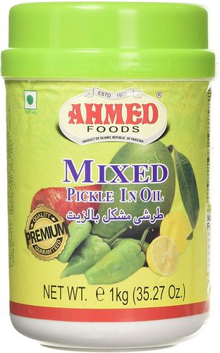 AHMED MIXED PICKLE IN OIL 1 Kg