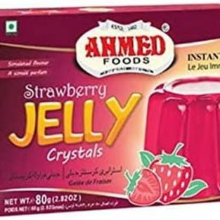 AHMED STRAWBERRY JELLY CRYSTALS 80 gm