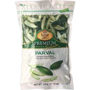 DEEP FROZEN PARVAL (POINTED GOURD) SLICES 340 gm