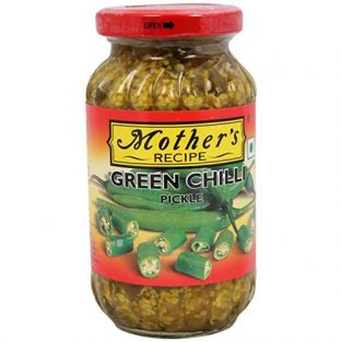 MOTHERS GREEN CHILLI PICKLE 400 gm